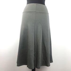 American Apparel Grey Skirt Size Large